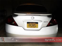 nissan altima coupe accessories rtint nissan altima coupe 2008 2016 tail light tint film