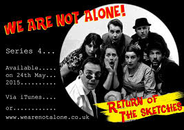 we are not alone 1950s si fi comedy podcast