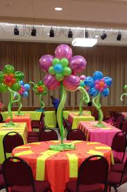 balloon centerpiece balloon flower centerpieces balloon flowers