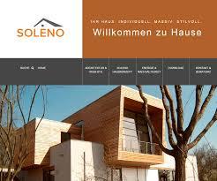 Suche Haus Www Soleno Haus De Wenisch Gmbh Leben Bauen Wohnen