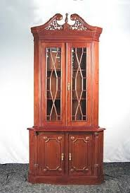 mahogany made to order dining room china cabinets curios