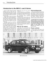 bmw 5 series 1991 e34 workshop manual