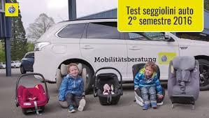 test si e auto tcs seggiolini auto 2016 la seconda fase di adac e tcs