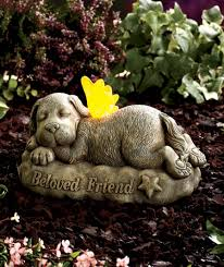 pet memorial garden stones solar pet memorial garden statues memorial stuff