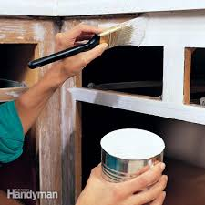 How To Paint Kitchen Cabinet Diy Kitchen Cabinets The Family Handyman
