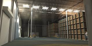 Warehouse Interior by Warehouse Rendering William A Kibbe U0026 Associates Inc
