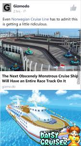 Cruise Ship Meme - the cruise ship wouldn t have to be monsterous they just need to