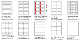 2 X 4 Label Template 10 Per Sheet Skilcraft Labels
