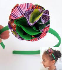 flower headband print flower girl headband girl skirt