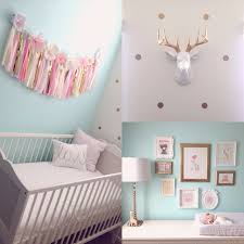 polka dot wall decal gold confetti polka dot polka dot wall decal i like the gold frames and gold dot wall decals crib from ikea pink tissue garland from etsy shophaha white faux deer head from etsy