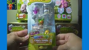 moshi monsters moshlings pencil toppers pack opening with scamp