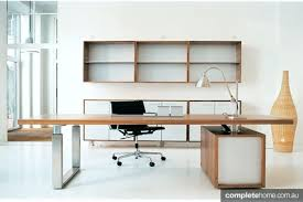 Office Desk Woodworking Plans Desk L Shaped Executive Desk With Shelves Jera Office Desk With