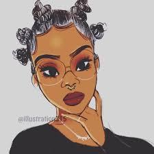 beautiful cartoon women art of course black is beautiful natural hair art pinterest