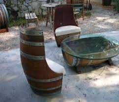 Whiskey Barrel Chairs Oak Wine And Whiskey Barrel Indoor Furniture