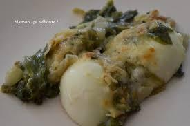 salade verte cuite recette cuisine gratin de salade cuite et oeufs durs maman ça déborde