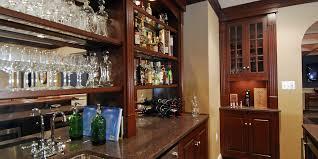 kitchen bar cabinets custom kitchen cabinets u0026 bars walmer enterprises inc