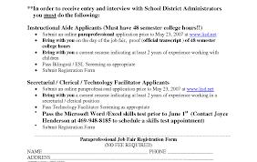 Sample Cover Letter For Resume Resume Stunning Paraprofessional Resume Letter Resume Sample