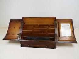 Vintage Desk Organizers Vintage Wooden Desk Organizer Desk Design Ideas Wooden