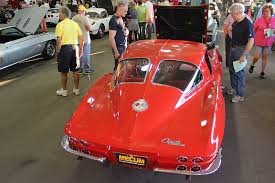 what year was the split window corvette made 1963 corvette split window sells for 275 000 at mecum s