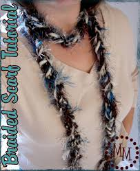 braided scarf simple braided scarf tutorial the scrap shoppe