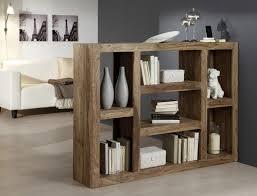 Open Shelving Room Divider Wooden Bookshelves As Room Divider Rectangle Wooden Table Grey