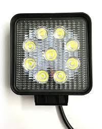 led tractor light bar free shipping 4 inch 27 w led light auto led work light led