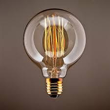 le glã hbirnen design purelume edison vintage masterglobe glühbirne 40w e27 220 240v