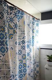 designing my own shower curtain u2013 plaster u0026 disaster