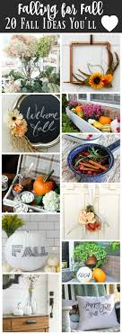 20 fantastic ideas for diy falling for fall 20 fantastic ideas for fall the happy housie