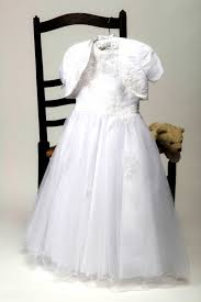 dresses for communion communion dress with bolero