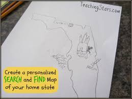 booking across the usa and create your own search and find state map