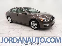 nissan altima 2015 display audio package pre owned 2015 nissan altima 2 5 sv 4dr car in mishawaka