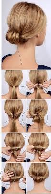 Hochsteckfrisurenen Zum Selber Machen Schulterlange Haare by The 25 Best Hochsteckfrisuren Selber Machen Ideas On