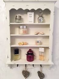 Shabby Chic Wall Cabinets by Shabby Chic Wall Shelf Cabinet Unit Cupboard Shelves Storage