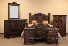 Bedroom Furniture Dallas Tx Country Rope And Rustic Bedroom Set With Finish