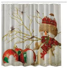 morethancurtains blue snowman in winter wonderland christmas