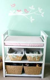baby changing table basket basket console storage table basket table storage unit storage