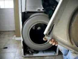 replace dryer belt idler pulley drum support rollers part2 youtube