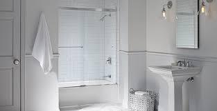 Fluence Shower Door Stylish Fluence Bypass Bath Shower Doors Kohler In Kohler