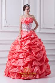 quinceanera dresses coral salmon quinceanera dresses 2016 bright coral quinceanera dresses