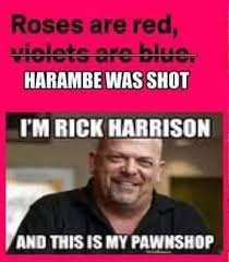 Pawn Shop Meme - you never know what s gonna come through that fence i m rick