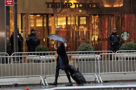 Trump Tower Residence Keeping Trump Tower Safe Will Be An U0027unprecedented Challenge