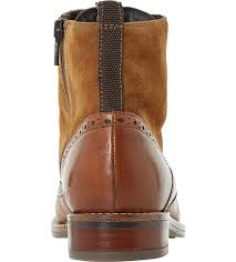 womens boots dune inexpensive boots sale dune philomena leather brogue ankle
