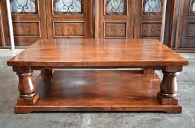 best rustic wood table ideas home and gardens large coffee table