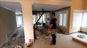Remodeling Orange County Episode 1 Aplus Interior Design U0026 Remodeling Rough Construction