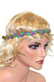 mardi gras headband gras braided ribbon stretch headband