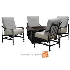 home depot black friday cashews hampton bay niles park 5 piece gas fire pit patio seating set with