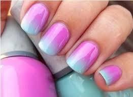 ombre nail art tutorial using acrylic paint amazingnailart org