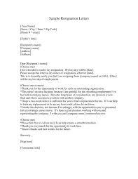 resignation letter short resignation letter saple formats the