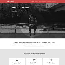 Resume Profile Template 20 Professional Html U0026 Css Resume Templates For Free Download And